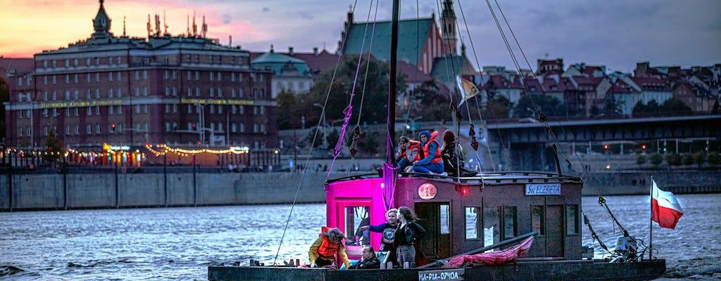 Crucero turístico por el río Vístula en Varsovia