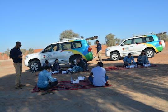 Hatta safari tour with Honey Bee Garden entrance