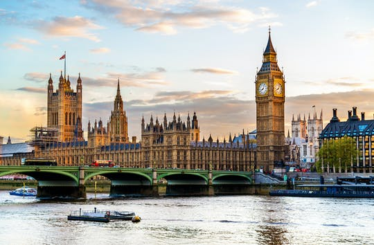 London 3-day package with accommodation, night bus tour and cruise on the river Thames
