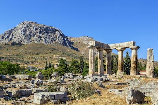 Tour por la antigua Corinto con degustación de vinos en Nemea desde Atenas