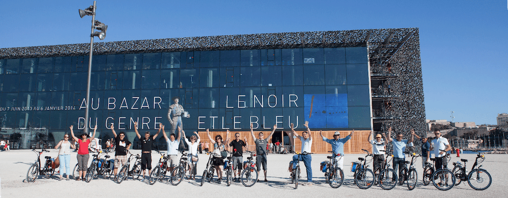 Grand tour of Marseille by electric bike