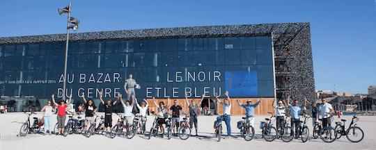 Gran recorrido por Marsella en bici eléctrica
