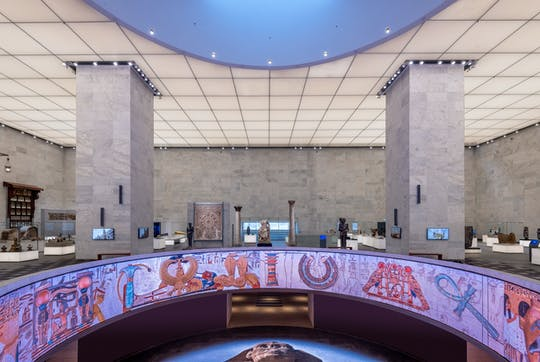 Tour of Civilization Museum and Salah El Din Citadel with El Khan Bazaar from Cairo
