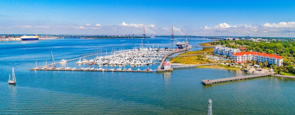 Visite de la ville historique de Charleston et croisière dans le port commentée en direct