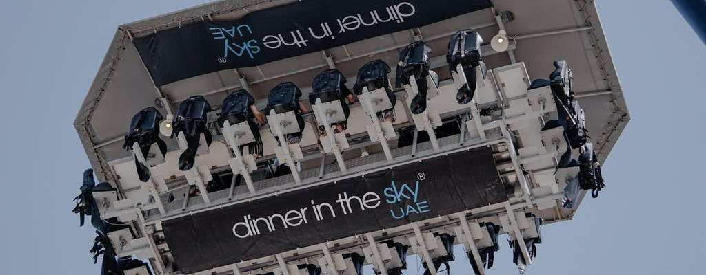 Abendessen im Himmel Dubai
