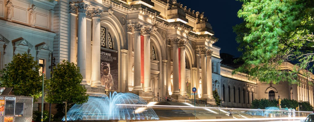 Metropolitan Museum of Art self-guided audio tour