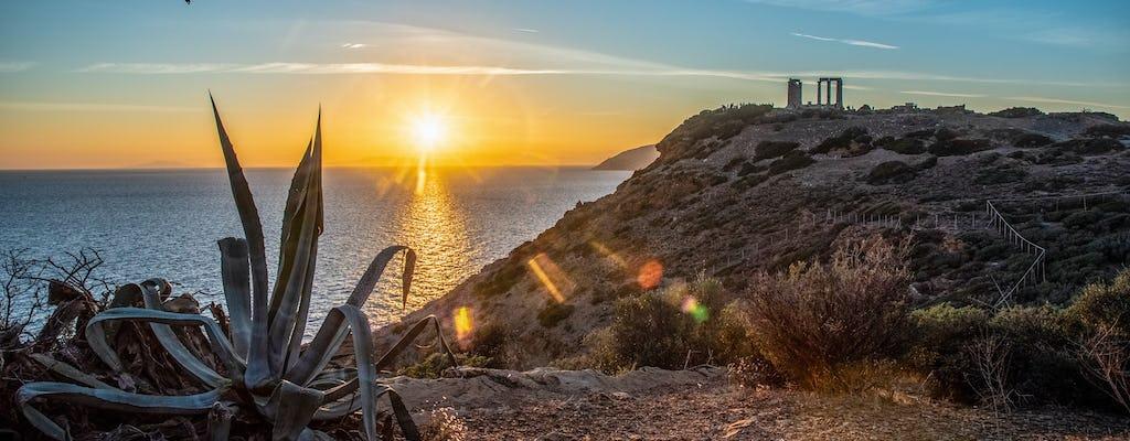 Tour privado al atardecer de Sounio y el templo de Poseidón