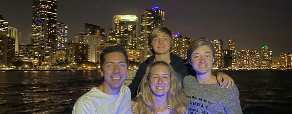 Miami private night tour cruise experience