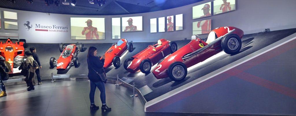 Viaggio privato di andata e ritorno da Firenze a Venezia con i biglietti del Museo Ferrari
