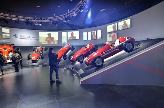 Private round trip from Florence to Venice with Ferrari Museum tickets