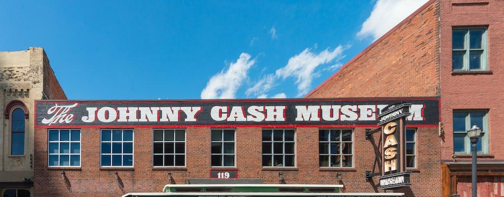 Passe musical de Nashville para RCA Studio B, bonde hop-on hop-off e Hall of Fame