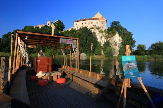 Круиз на деревянной исторической лодке по реке Висла из Кракова в Тынец