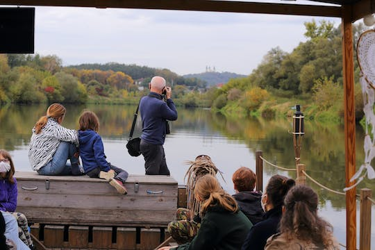 Into the wild - historical wooden boat cruise to Krakow jungle