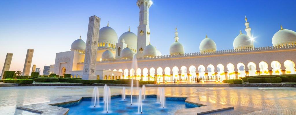 Excursão pela Mesquita de Abu Dhabi e pela Warner Bros saindo de Dubai
