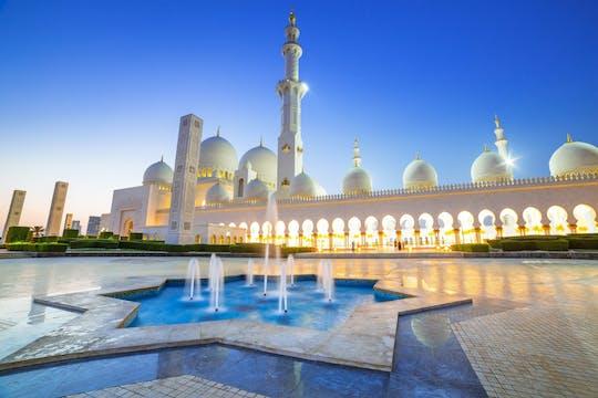 Tour della Moschea di Abu Dhabi e Warner Bros da Dubai