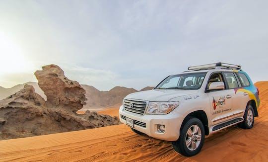 Experiência de safári 4x4 no deserto com observação de estrelas e jantar