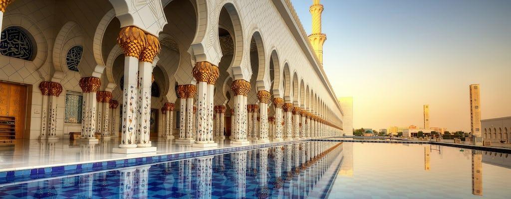 Moskee van Abu Dhabi en Louvre Museum met lunch vanuit Dubai
