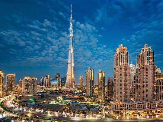 Dubai dia inteiro em com Burj Khalifa
