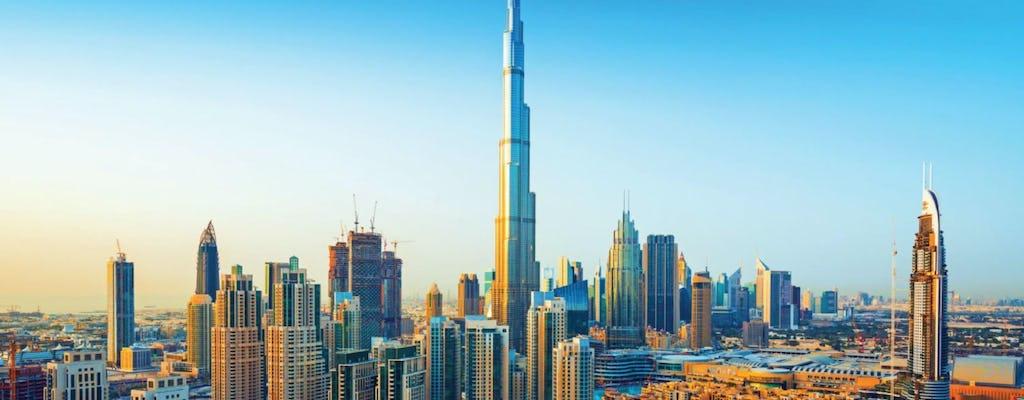 Tour de Dubai em meio dia com o bilhete de entrada para o Burj Khalifa