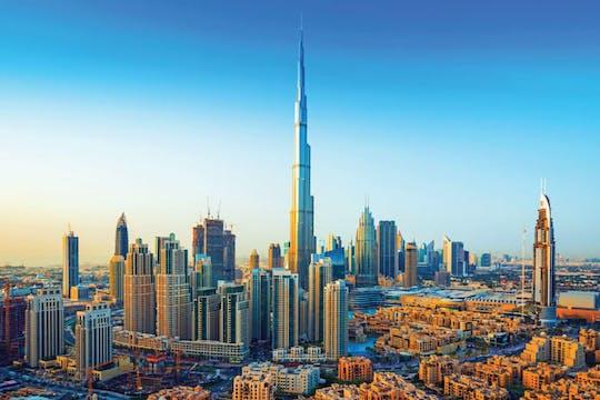 Dubai half day with Burj Khalifa entrance ticket