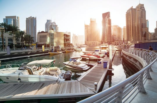 Dubai Tour della città moderna da Dubai