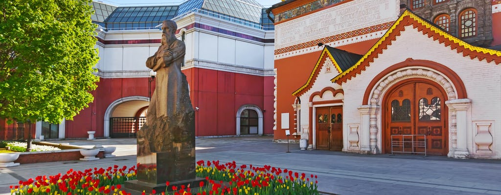 Visita guiada ao metrô de Moscou e ingresso para a Galeria de Arte Estatal Tretyakov