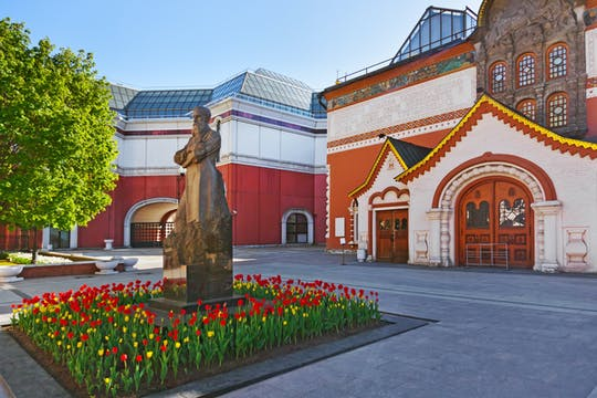 Visita guiada al metro de Moscú y entrada a la galería de arte estatal Tretyakov