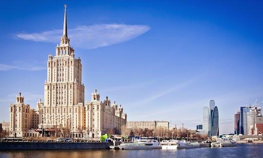 Tour della metropolitana di Mosca e gita in barca sul fiume di Mosca