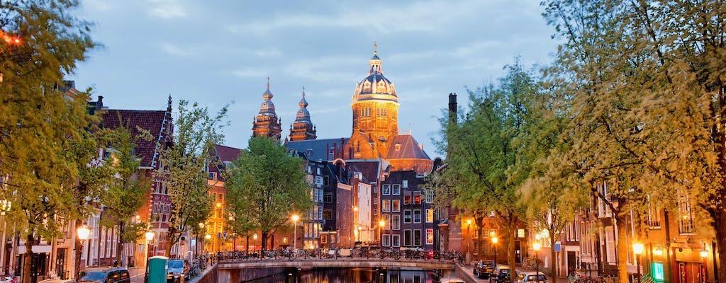 Пешеходная аудиотура по району Красных фонарей Амстердама с помощью мобильного приложения