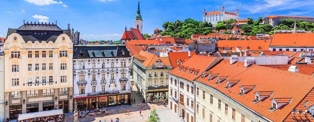 Private tour from Vienna to Bratislava with transport and guide