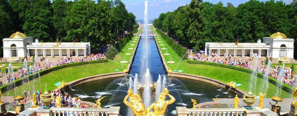 San Petersburgo: visita guiada al parque inferior de Peterhof