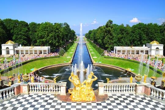 San Pietroburgo: visita guidata al Parco Inferiore di Peterhof