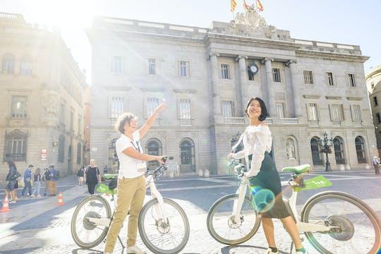 Barcelona 360º: recorrido de medio día en bici eléctrica, teleférico y barco eléctrico