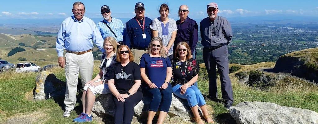 Tour privado em grupo de meio dia por Napier e Hawkes Bay