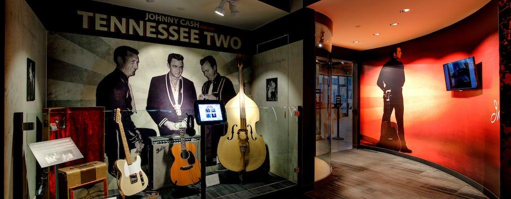 Pase divertido de Nashville para Johnny Cash Museum, Hatch Show y Ole Smoky Moonshine