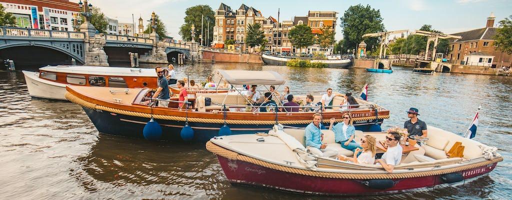 Pontos turísticos encantadores e históricos em Amsterdam Cruise