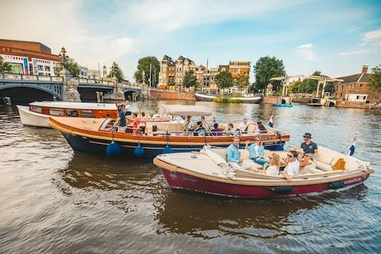 Круиз по очаровательным и историческим достопримечательностям Амстердама