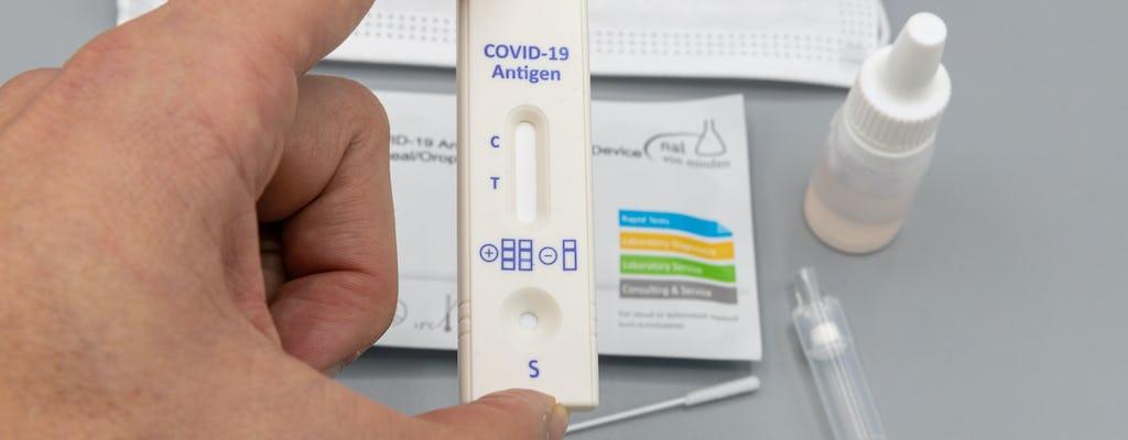 Transferência para teste de antígeno em Hurghada