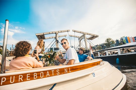 The adult ultimate Amsterdam canal cruise