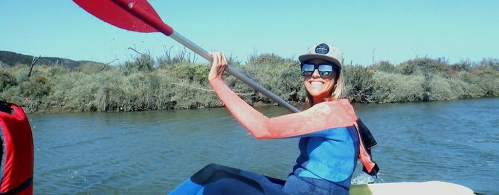 Tour guiado en kayak por el río Amoreira desde Carrapateira