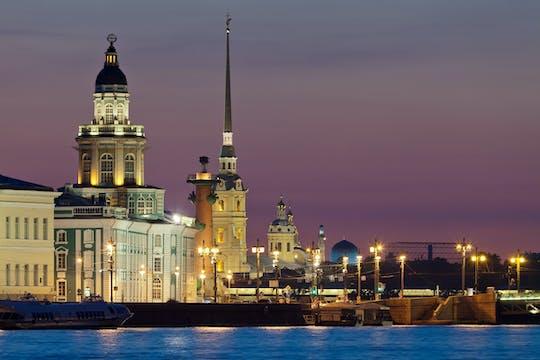 San Petersburgo: tour nocturno a pie por Nevsky Prospekt