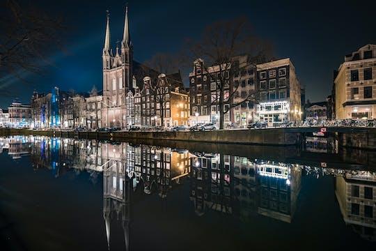 Spektakularny wieczorny rejs dla dorosłych z Amsterdamu