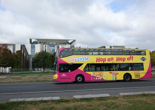 Biglietto combinato per tour della città hop-on hop-off e tour in barca Sprea per 24,48 o 72 ore