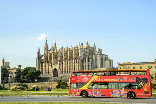Palma Hop-On Hop-Off Bus Ticket & Sightseeing Boat Cruise