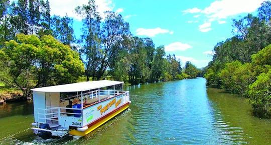 Crucero al atardecer por el río Currambene
