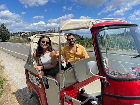 Tour panoramico del Chianti in tuk-tuk con pranzo