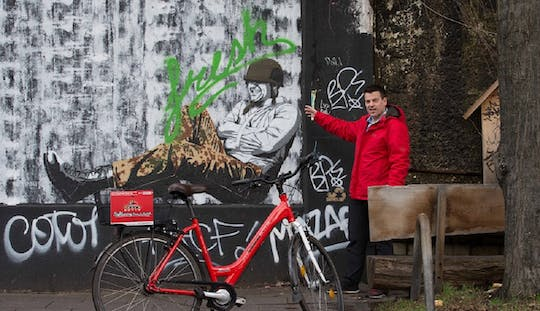 Guided bike tour to Cologne´s street art in a private group