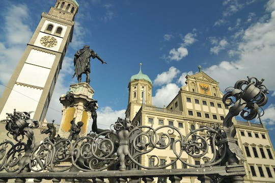 Augsburg city tour in the footsteps of Fugger, Mozart and Brecht