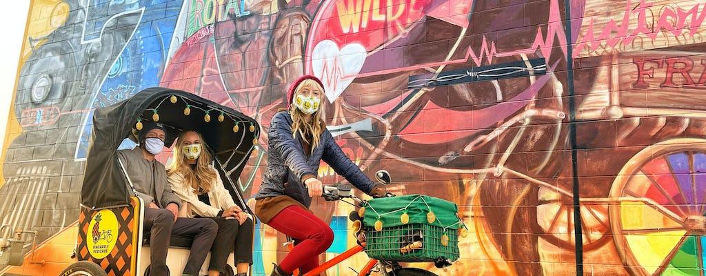 Midtown Reno mural pedicab tour