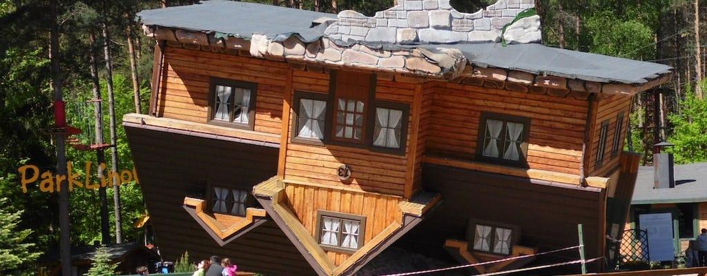 Tour privato di un'intera giornata in Svizzera Kashubian con trasporto